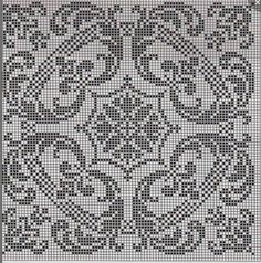 Výsledok vyhľadávania obrázkov pre dopyt cross stitch patterns black and white Filet Crochet Charts, Crochet Cross, Crochet Motif, Biscornu Cross Stitch, Cross Stitch Embroidery, Embroidery Patterns, Cross Stitch Designs, Cross Stitch Patterns, Crochet Tablecloth