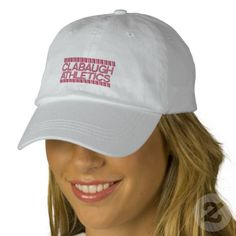 CLABAUGH ATHLETICS hat Embroidered Baseball Cap   *Promote LYKENS-LUZESKY T-shirts for CASH.