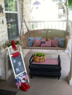 Fourth of July Porch!