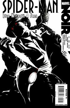 Spider-Man Noir: Eyes Without a Face # 2 (Variant) by Dennis Calero Comic Books Art, Comic Art, Book Art, Noir Spiderman, Camille Rose Garcia, Eyes Without A Face, Amazing Spider, Comic Covers, Marvel Comics