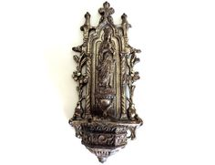 French Vintage Religious Silver Metal by FrenchReligiousFinds, $47.00