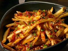 Get Asian Street Fries Recipe from Food Network