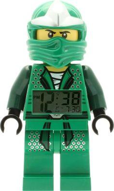 LEGO Ninjago Lloyd mini figure Clock
