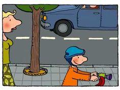 Jules en zijn fiets - Animatiefilmpjes - Nieuwe Dag Jules! - YouTube