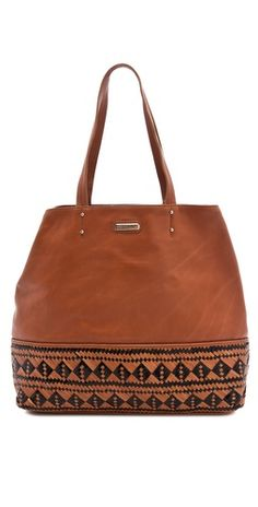 Rebecca Minkoff Woven East West Tote