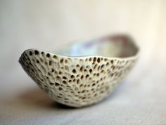 Little pod porcelain dish by peifferStudios on Etsy