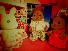 Sylvanian Families ~ Cats & Rabbit