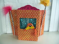 Recycled Lorax Puppet Theater