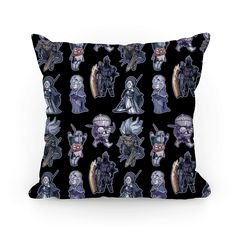 Cutie Souls - The dark souls pillow is perfect for those who love horror, dark fantasy, monsters, video games and also...cute, kawaii chibi versions of their favorite dark souls characters and bosses such as the sun bro, Firekeeper, Yhorm the giant, Siegward, Sister Friede and the Nameless King. This monster pillow will be cute little reminders of the many, many many brutal ways this game has murdered you and made you cry tears of rage.