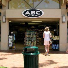 ABC Store , a Hawaii mainstay. I can't even tell you how many times I've been to an ABC store! Hawaii Life, Aloha Hawaii, Whalers Village, Maui Travel, Hawaii Homes, Paradise On Earth, Hawaiian Islands, Wishful Thinking, Big Island