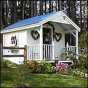 10 x 16 Pond House Jamaica Cottage Shop -Vermont, USA