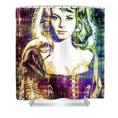 #homedecor #home #decor #nu #nude #naked #art #celebrity #celebs #popart #shower #curtain #showercurtain #draw #drawshowercurtain