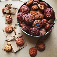 Carved avocado stones (pits) - Imgur