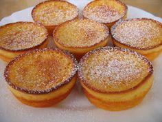 Receitas de Portugal: São muito fáceis de fazer estas queijadinhas de iogurte, e saem sempre bem!