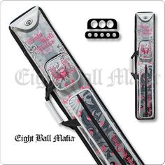 Action Eight Ball Mafia Case - 3x5 - EBMCL35A  - Ladies Hard Cue Case