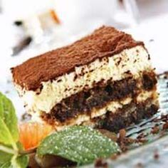Tiramisu ~ I just had this @ a local resteraunt last week...I will definitley be checking this recipe out!!!