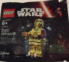 Lego Star Wars C-3PO Minifigur – Polybag - happy-e-shopping