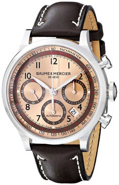 Baume & Mercier 10004 - Reloj de pulsera hombre