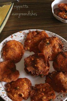 nippattu Dry Snacks, Savory Snacks, Yummy Snacks, Vegan Recipes Easy, Indian Food Recipes, Snack Recipes, Ethnic Recipes, Indian Snacks, Diwali Snacks