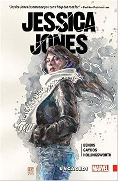 Comic Review: #JessicaJones Vol. 1: Uncaged! Grade: A  If there were ever a character who could snatch life-shattering angst from the jaws of happy ever after without too much suspension of disbelief, it would be Jessica Jones.  But it sure is nice to have her back.  #Comics #Marvel #Superheroes #Noir