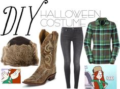 """""""DIY Halloween Costume: Wendy Gravity Falls"""" by lilliholmes ❤ liked on Polyvore"""