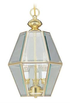 Home Basics Chandelier (LVX-4034-02). Home Basics - Chandelier - Polished Brass - 10 x 16 Product Specifications Fixture Type Chandelier Collection Home Basics Finish Polished Brass Glass Clear Beveled Dimensions 10 x 16 Wattage 3x60W Cand Base Weight.. . See More Chandeliers at http://www.ourgreatshop.com/Chandeliers-C1008.aspx
