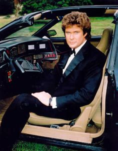 David Hasselhoff ---1980s TV series Knight Rider