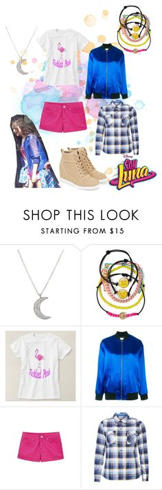 """soy luna"" by maria-look on Polyvore featuring Finn, Carole, Yves Saint Laurent, WithChic and Barbour"