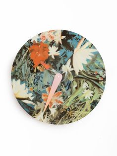 Hand painted clock by Diana Ellinger — The Design Files