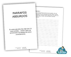 RECURSOS PRIMARIA | Párrafos absurdos ~ La Eduteca