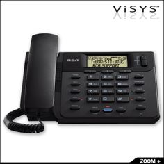 2 Line Corded Speakerphone from OFGProducts.com. 2-LINE Corded Phone Base Speaker Phone Call waiting caller ID 3 Programmable One-Touch Speed Dials 75 Name/Number Caller ID Records Visual line status indicators 2 Line conferencing Desk or wall mountable