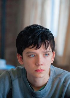"lovezucks: ""Asa Butterfield in Ten Thousand Saints "" Oh man, his eyes are so beautiful."