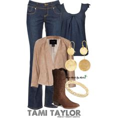 Inspired by Friday Night Lights character Tami Taylor played by Connie Britton.