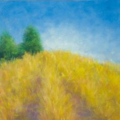 Landscape Painting Chalk Hill oil on canvas by Victoria