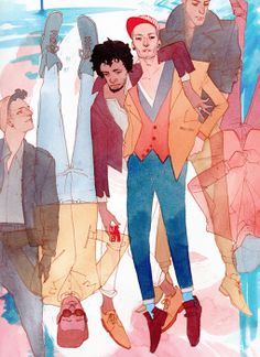 Kevin Wada Illustration