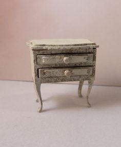 Dollshouse miniature cardboard kit half scale (1:24.1/24) French Rococo drawer. door melissasminiwereld op Etsy
