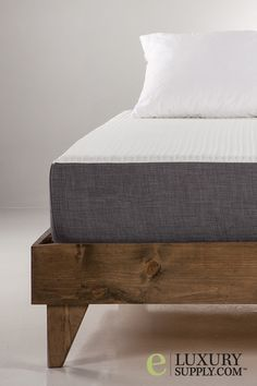 It's ok if you are tired after work. Fall into the cool embrace of a Gel Memory Foam mattress and let your dreams take you away. Put it on a frame, lay it on the floor, or make your bed on a repurposed pallet platform; no box-spring required. Coming in all standard U.S. sizes (twin - cal. king), this mattress can fit in any size bedroom. It is delivered right to your door. Buying a mattress has never been easier.