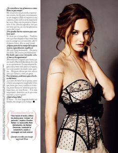 Leighton Meester 1. i love her  and 2. her hair is so pretty