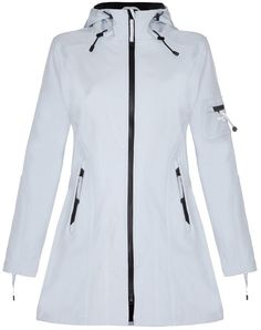 Pin for Later: Don't Let the Rain Dampen Your Festival Fashion Ilse Jacobsen Waterproof Raincoat Ilse Jacobsen Waterproof Raincoat (£165)
