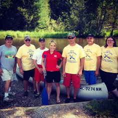 Had a great time at the Pledge Paddle today! This event raises money for the big canoe marathon next month. Thanks to the Grayling community for having me! #910News  - Sara Simnitch 6.28.14