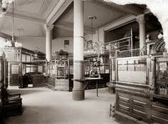old bank interior - Google Search