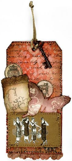 tag for Guriana *Scraps of Darkness* Feb Kit - Scrapbook.com