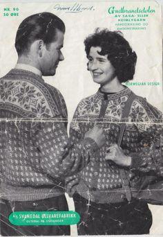 Gudbrandsdølen 90 Sorting, Knitwear, Knitting, Crochet, Movies, Movie Posters, Vintage, Beauty, Tricot