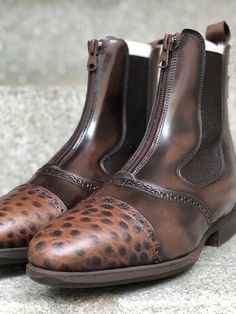 Short Boots, Design Your Own, Dark Brown, Chelsea Boots, Model, Shoes, Collection, Fashion, Low Boots