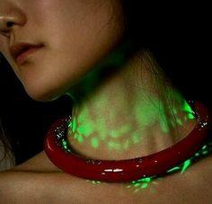 Aurora LED necklace