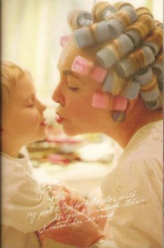 Elizabeth Taylor and her grandson