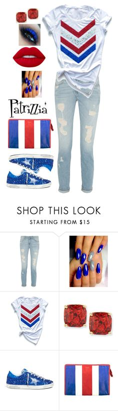 Patrizzia10.07.2017b by patrizzia on Polyvore featuring moda, Golden Goose, Balenciaga, Kate Spade, Lime Crime and patrizziapolyvore
