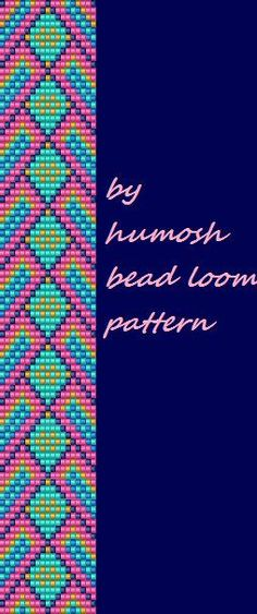 bead loom pattern by Humosh on Etsy