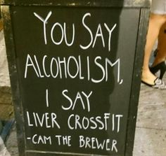 Liver crossfit ha!