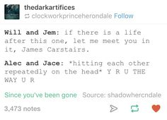 LOL THE ACCURACY IN THIS THO The Infernal Devices  The Mortal Instruments